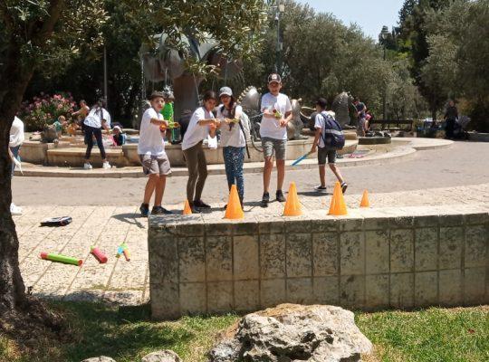 משימה במשחק נוער בירושלים